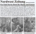 Zeitungsartikel der Nordwest Zeitung