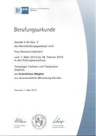 Ramona Lütjohann - Prüfungsausschuss 2014-2019