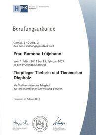Ramona Lütjohann - Prüfungsausschuss 2019-2024