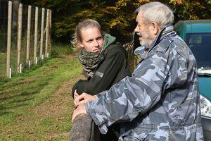 Ramona Lütjohann im Gespräch mit Wolfsforscher Werner Freund