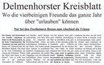 Zeitungsartikel des Delmenhorster Kreisblatts