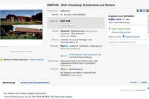 Den Artikel lesen: Verkauf unserer Werbefotos bei Ebay