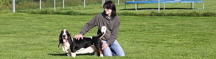Frau Hartwig - ausgebildete Hundetrainerin und Tierpflegerin